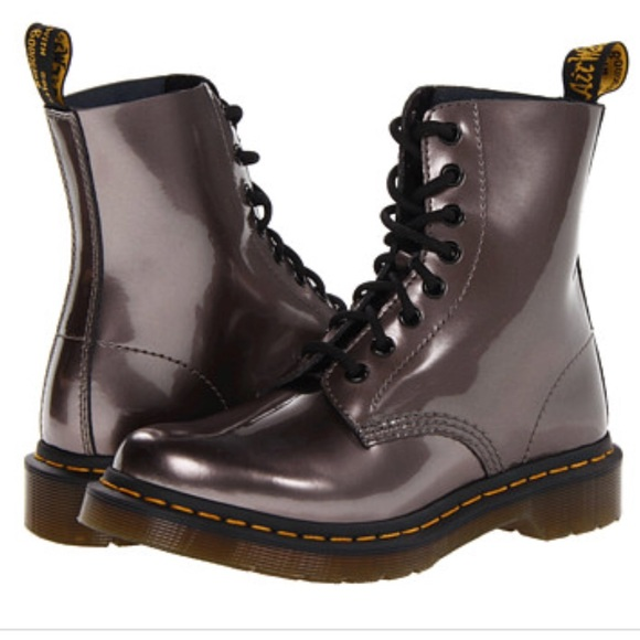 Dr Martens Pascal 8eye Pewter Spectra